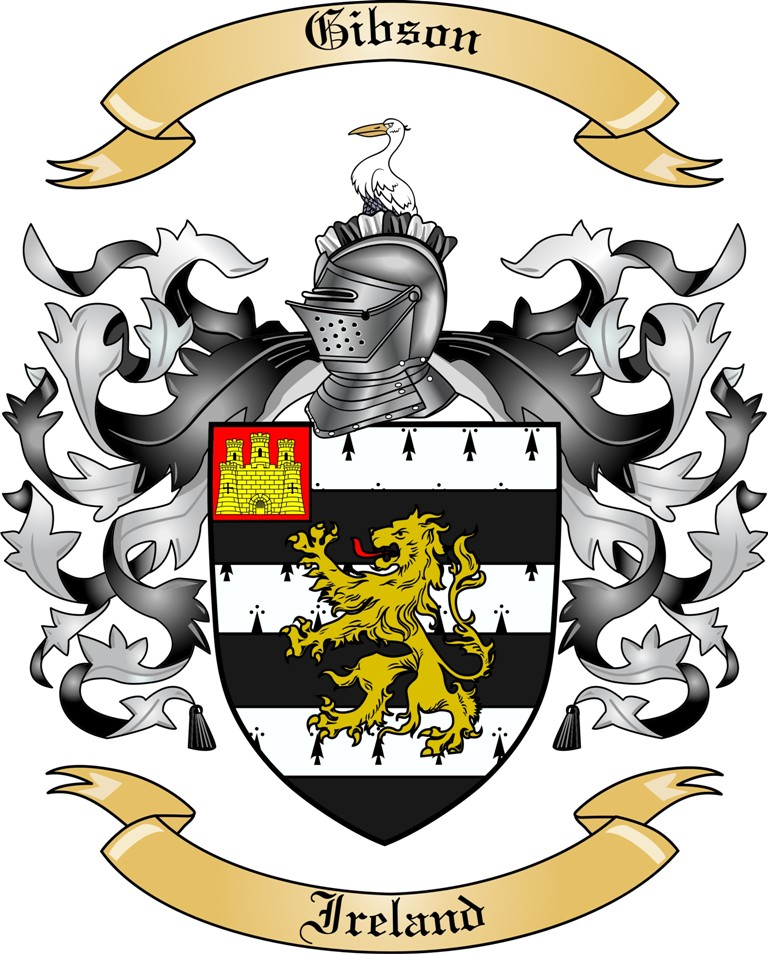 Gibson Family Coat of Arms
