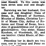 Anna Rhode Krichau Obituary